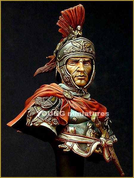 Roman Cavalery Officer 180 B.C. - Young Miniatures 1/10ème  YH1829-2